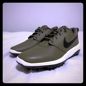 Nike Roshe Tour Olive Black Golf Shoes AR5580-200